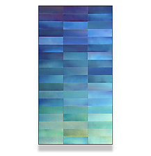 Patina Gradation by Robert A. Brown and Anne Moran (Metal Wall Sculpture)