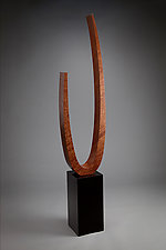 Freestanding Sculpture by Richard Judd (Wood Sculpture)
