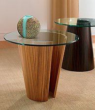 Catalan End Table by Richard Judd (Wood End Table)
