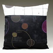 Cosmic by Susan Hill (Cotton, Linen & Silk Pillow)