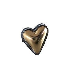 Heart Ring by Lisa Crowder (Gold, Silver & Enamel Ring)