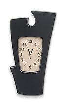 Simon Says Clock by Vincent Leman (Wood Wall Clock)