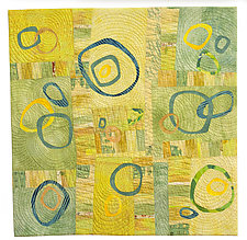 Family and Friends by Catherine Kleeman (Fiber Wall Hanging)