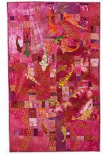 Koi Pond by Catherine Kleeman (Fiber Wall Hanging)
