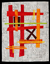 No Outlet by Catherine Kleeman (Fiber Wall Hanging)