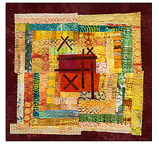 Your Turn by Catherine Kleeman (Fiber Wall Hanging)