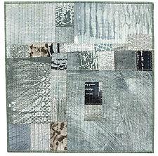Foot Square VIII by Catherine Kleeman (Fiber Wall Hanging)