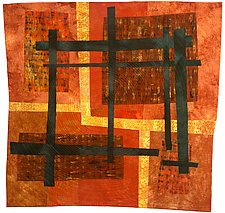 Trapped by Catherine Kleeman (Fiber Wall Hanging)