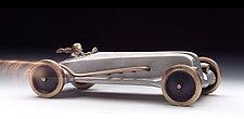 Land Speed Racer by Scott Nelles (Metal Sculpture)