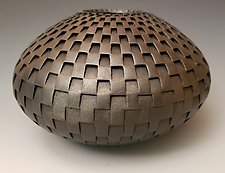 Graphite Spoke by Michael Wisner (Ceramic Vessel)