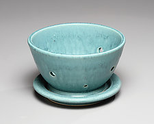 Berry Bowl by Jan Schachter (Ceramic Bowl)