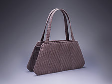 Isabella Leather Handbag by Michelle  LaLonde (Leather Purse)