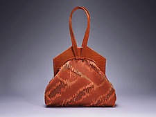 Sarah Evening Bag by Michelle  LaLonde (Leather Purse)