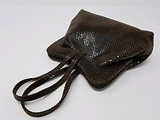 Deborah Brown Lambskin Evening Bag by Michelle  LaLonde (Leather Purse)
