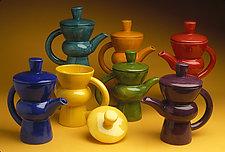Coffee Pot by Abby Salsbury (Ceramic Coffee Pot)