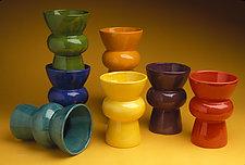 Vase by Abby Salsbury (Ceramic Vase)