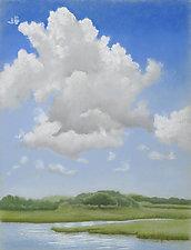 Accabonac Harbor by Sherry Schreiber (Giclee Print)