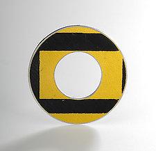 Donut D.P.W. Brooch by Boris Bally (Metal Brooch)