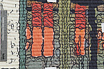 Soft City-ell by Marilyn Henrion (Fiber Wall Hanging)