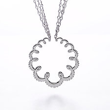 Garland Necklace by Ellen Himic (Silver Necklace)