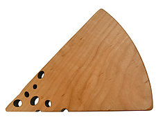 Swiss Cheese Board in Cherry by Jonathan Simons (Wood Cutting Board)