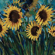 Sunflowers by Sarah Samuelson (Giclee Print)