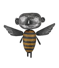 Angel MoonBee by Bruce Chapin (Wood Wall Art)