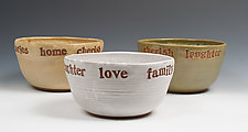 Celebration Bowl by Louise Bilodeau (Ceramic Bowl)