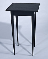 Small Side Table by Karel Aelterman (Wood Side Table)