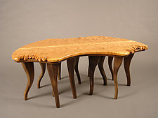 Cherry Motion by Bill Palmer (Wood Coffee Table)
