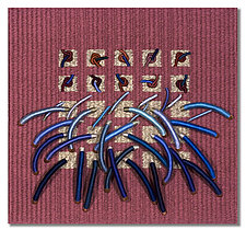 Earth Series No. 19 by Laurie dill-Kocher (Fiber Wall Hanging)