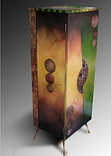 Tall Cabinet by Wendy Grossman (Wood Cabinet)
