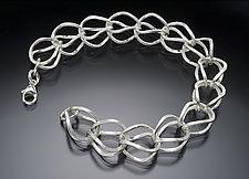 Silver Hen Bracelet by Ken Loeber and Dona Look (Silver Bracelet)
