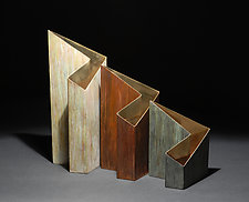 Zorro vases by David M Bowman and Reed C Bowman (Metal Vase)