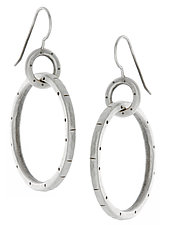 Betsy Earrings by Jodi Brownstein (Silver Earrings)