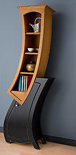 Stacked Cabinet No.7 by Vincent Leman (Wood Cabinet)