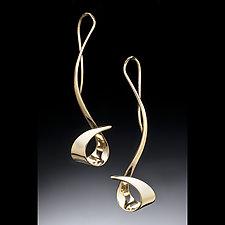 Sweep Earrings by Stephen LeBlanc (Gold or Silver Earrings)