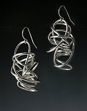 Nest Earrings by Rina S. Young (Silver Earrings)