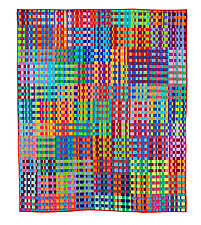 A Complete Basket Case by Kent Williams (Fiber Wall Hanging)