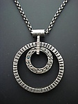Encircled Necklace by Tavia Brown (Silver Necklace)