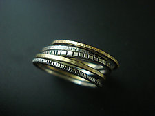 Stacking Rings by Tavia Brown (Silver Ring)