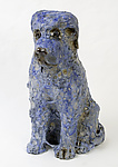 Blue Puppies by Mark  Chatterley (Ceramic Sculpture)