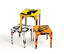 Pop! Transit Table by Boris Bally (Metal Side Table)