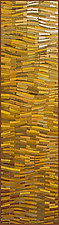 Gold Wave Banner by Tim Harding (Fiber Wall Hanging)
