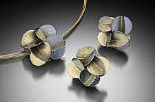 Bold Blossom set by Christine Mackellar (Gold & Silver Necklace)