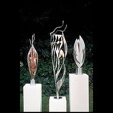 Sculpture Trio by Molly Mason (Metal Sculptures)