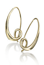 Tracy Earrings by Britt Anderson (Gold Earrings)
