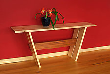 Console Table by John McDermott (Wood Console Table)