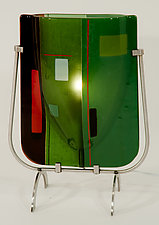Simply Solid Table Lamp by Renato Foti (Glass Table Lamp)