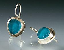 Lume Earrings by Amy Faust (Silver & Glass Earrings)